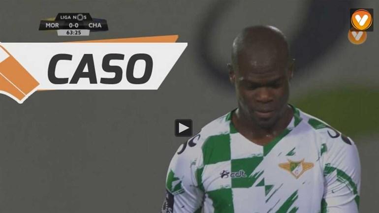 Assim foi o golo anulado ao Moreirense