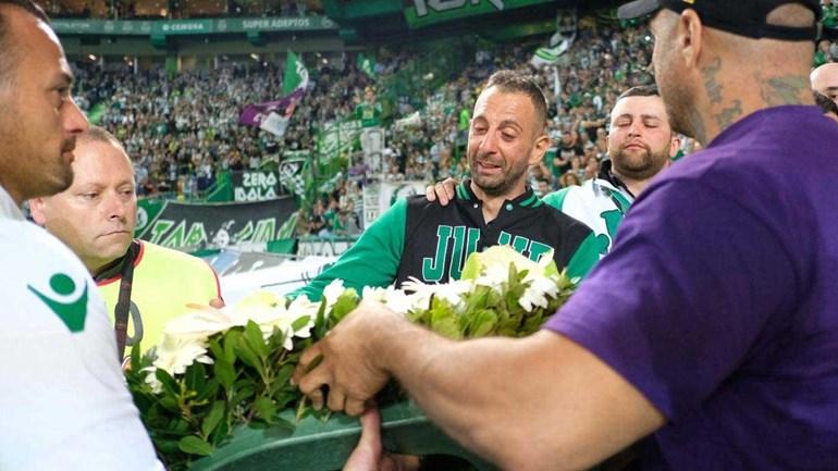 Juve Leo reage após coroa ser colocada no lixo: «Os assassinos em Portugal só tem uma cor»