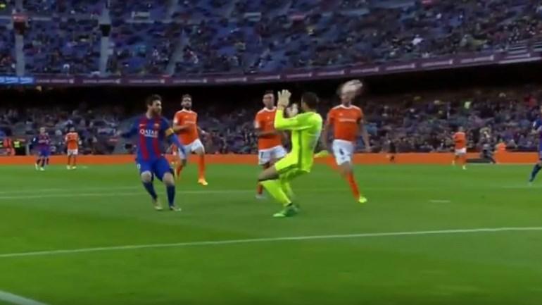 Mais um golo sensacional de Messi