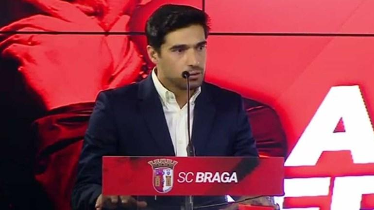 Abel deixa promessa aos adeptos do Sp. Braga