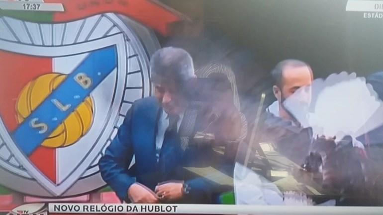 Águia Vitória pregou um susto a Luís Filipe Vieira
