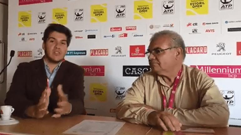Estoril Open: Norberto Santos e José Morgado à conversa sobre o 2.º dia do torneio