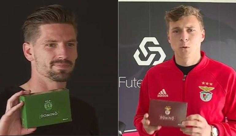 Os jogadores de Sporting e Benfica têm uma mensagem para si