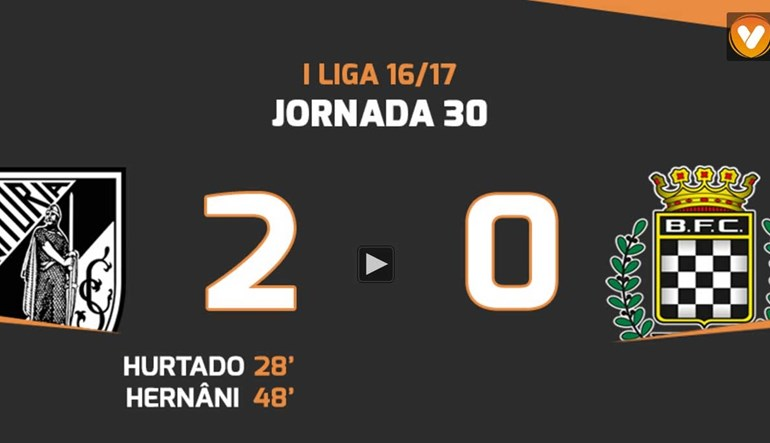 Os melhores momentos do V. Guimarães-Boavista (2-0)