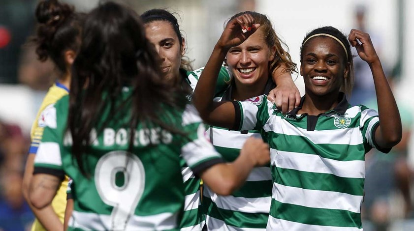 Sporting demolidor goleia Estoril