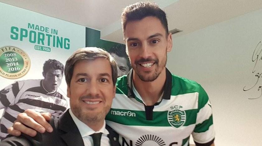 Oficial: André Pinto assina pelo Sporting até 2021
