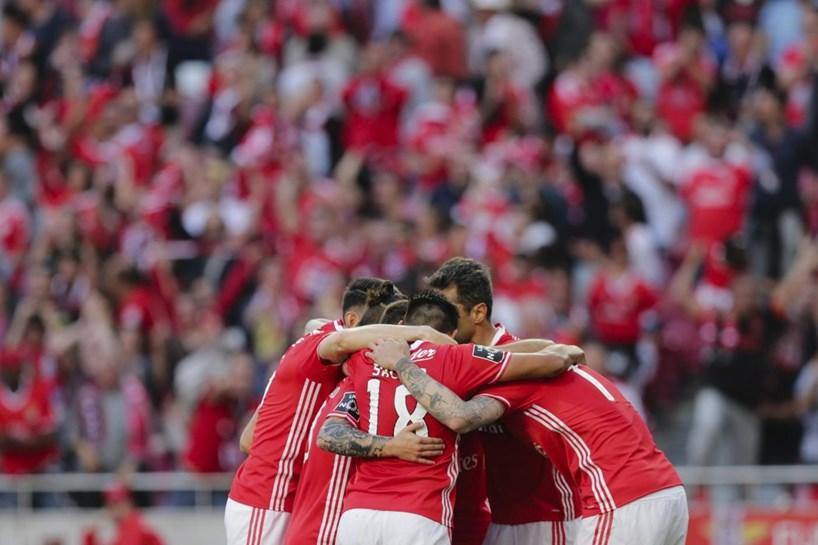 As melhores imagens do Benfica-Marítimo