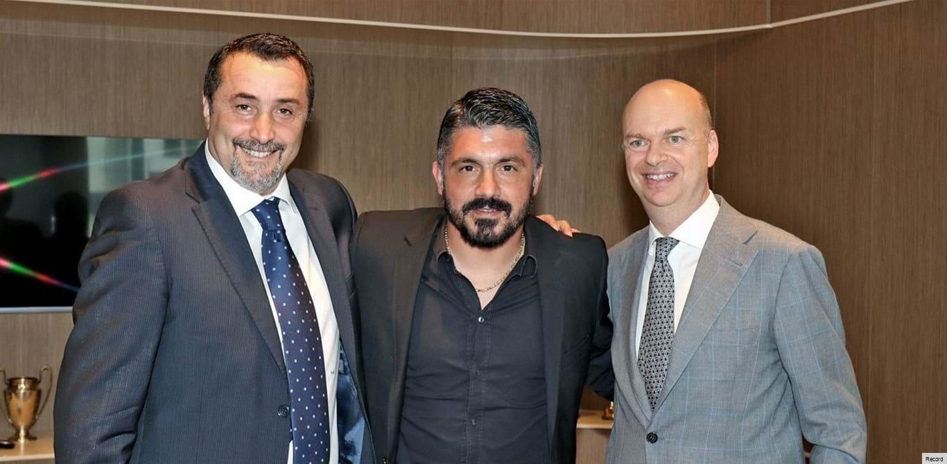 Gennaro Gattuso regressa ao Milan