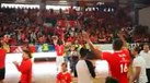 Na Luz festeja-se à grande o título de campeão... de voleibol