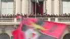 Este foi um dos momentos mais arrepiantes da celebração do Benfica