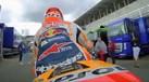 Márquez em dia 'não' pregou susto a fãs no 'paddock' de Le Mans