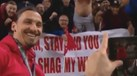 Ibrahimovic foi tentado com proposta indecente e quis registar... a prova