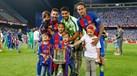 Filhos dos craques do Barcelona no centro das atenções