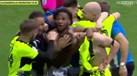 Jogadores do Huddersfield loucos com a promoção à Premier League