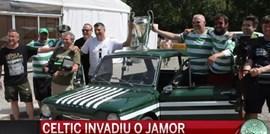 Foi assim a festa do Celtic no Jamor