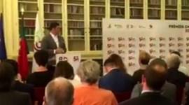 Rui Vitória recebeu prémio de treinador do ano e aproveitou para dizer uma ou duas coisinhas