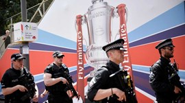 Estádio de Wembley em versão... fortaleza