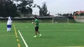 Nelson Pereira explica modelo de treino na formação do Sporting