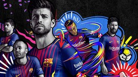 Oficial: é este o equipamento do Barcelona para a próxima época