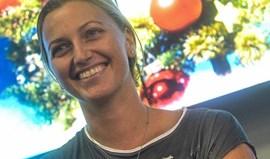 Petra Kvitova volta aos treinos após operação à mão