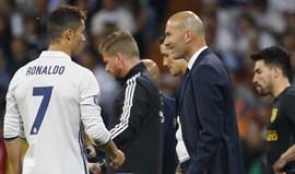 Zidane e a atuação de Ronaldo: «Não se pode dizer nada. Ele fala por si mesmo...»
