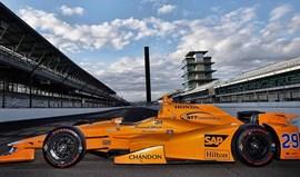 Fernando Alonso com teste positivo na oval de Indianápolis