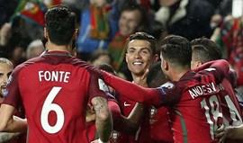 Portugal mantém oitavo lugar no ranking da FIFA