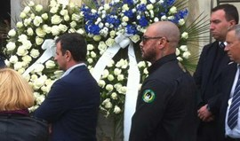 Mustafá também foi ao funeral de Marco Ficini