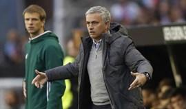 Mourinho gostou da exibição mas nem tanto do resultado