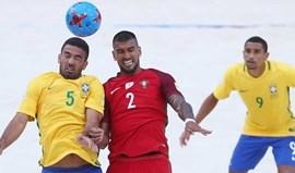 Mundial'2017: Portugal diz adeus com derrota diante do Brasil
