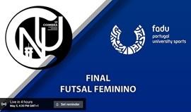 Veja em direto: final do Torneio de Futsal Feminino