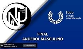 Veja em direto: final do Torneio de Andebol Masculino