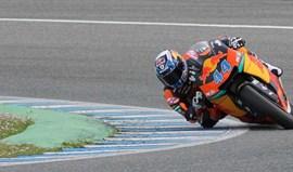 Moto2: Miguel Oliveira 7.º nos treinos livres do GP de Espanha
