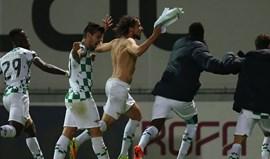 A crónica do Moreirense-Sp. Braga, 2-1: Festa antecipada com dois foguetes