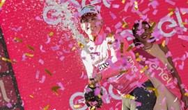 Greipel veste camisola rosa pela primeira vez, Rui Costa em 10.º