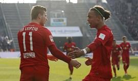 Leipzig assegura entrada direta na fase de grupos da 'Champions'