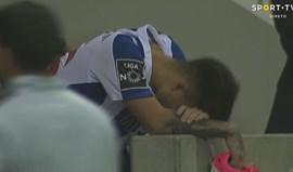 Desilusão apoderou-se dos rostos portistas após o empate