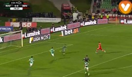 Contra-ataque exemplar do Benfica terminou com golo de Jiménez