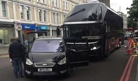 Autocarro do Middlesbrough envolvido em acidente