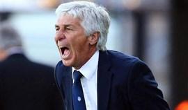 Atalanta renova contrato com Gian Piero Gasperini