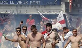 Dez adeptos franceses e um holandês detidos antes do Lyon-Ajax
