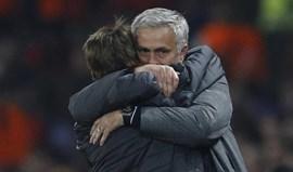 Mourinho: «Tinha saudades do meu filho atrás do banco»