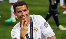 Cristiano Ronaldo também quer o tetra