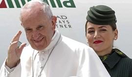Papa Francisco chegou à Base de Monte Real às 16h10