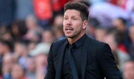 Diego Simeone assume que continuará no At. Madrid