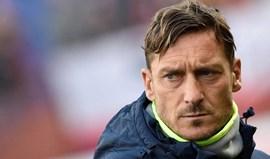 Bilhetes para ver despedida de Totti voaram em 48 horas