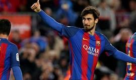 Barça quer vender cinco dos seis reforços de 2016: André Gomes está na lista