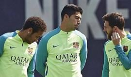 Suárez sobre Messi e Neymar: «É impossível tirar-lhes a bola, nem me canso a tentar»