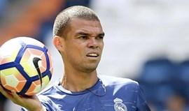 Pepe não vai despedir-se dos adeptos merengues no Bernabéu