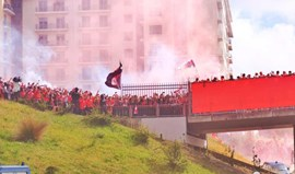 Como foi o dia do Benfica até à chegada ao Estádio da Luz